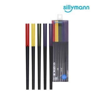 [실리만] 프리미엄 실리콘 젓가락 5SET WSK3725