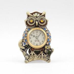 [미아트]데일리데코 작은눈 부엉이 탁상 시계