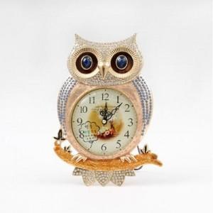 [미아트]데일리데코 큰눈 부엉이 탁상 시계