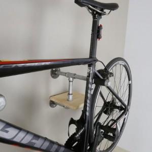 [리올선반] 파이프원목자전거선반