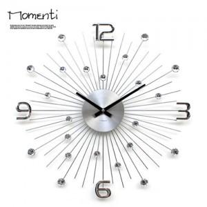 [포커시스][Momenti] 모멘티 실버밀리언 벽시계 MMT-427_CHR
