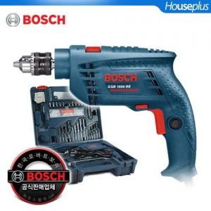 [보쉬] 전동드릴공구세트 GSB1000RE DIY KIT(100pcs 수공구,액세사리포함)/콘크리트OK