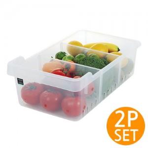냉장고 오픈 저안트레이 세트 3호 (2개 set)