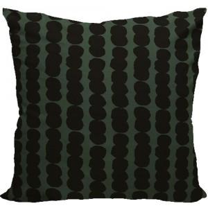 [Oi] 블랙 도트 패턴 쿠션 도리 (dory)