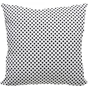 [Oi] 모던스타일 블랙도트 패턴 쿠션 블랙도트 (black dot)