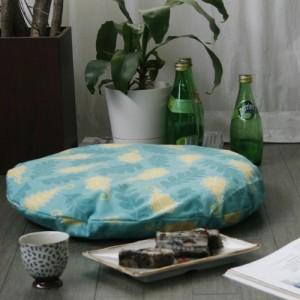 [Oi] 페이즐리 패턴 좌식쿠션 페이즐리 민트 (peisley mint sitting cushion)
