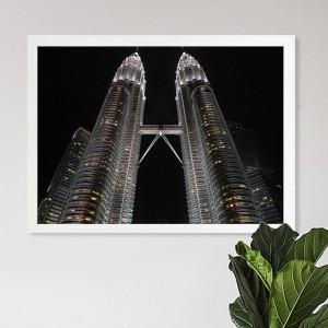 [시즈팝]FA242 말레이시아 트윈타워  북유럽 스타일 포토프레임