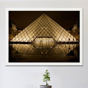 [시즈팝]FA243 프랑스 파리 루브르 박물관   북유럽 스타일 포토프레임
