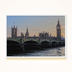 [시즈팝]FA269 영국 런던 북유럽 스타일 포토프레임