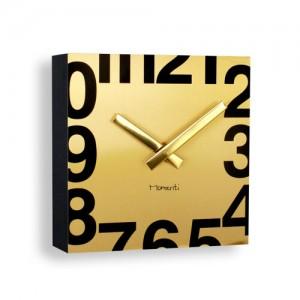 [포커시스][Momenti] 모멘티 골드 사각 벽시계 MMT-T04_GOLD
