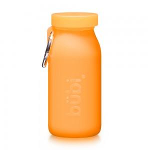 [부비바틀]부비 다용도실리콘물병 450ml(오렌지)