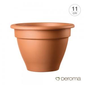 [데로마 Deroma] 테라코타 이태리토분 미니화분 캄파나(11cm)