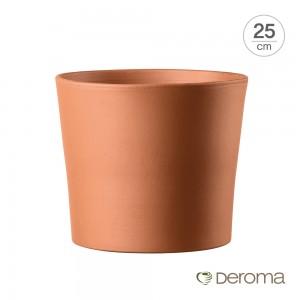 [데로마 Deroma] 테라코타 이태리토분 인테리어화분 바소 실린드리코(25cm)
