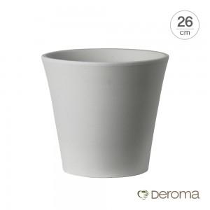 [데로마 Deroma] 테라코타 이태리토분 인테리어화분 바소 코노 지(26cm)