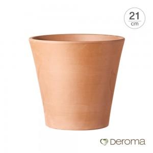[데로마 Deroma] 테라코타 이태리토분 인테리어화분 바소 코노(21cm)
