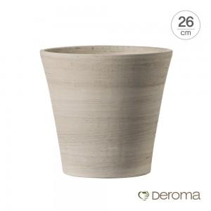 [데로마 Deroma] 테라코타 이태리토분 인테리어화분 바소 코노(26cm)