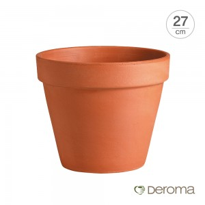 [데로마 Deroma] 테라코타 이태리토분 인테리어화분 바소(27cm)