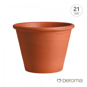 [데로마 Deroma] 테라코타 이태리토분 인테리어화분 바숨(21cm)