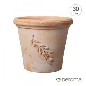 [데로마 Deroma] 테라코타 이태리토분 인테리어화분 실린드로 올리브(30cm)