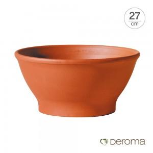 [데로마 Deroma] 테라코타 이태리토분 인테리어화분 쵸톨라 리스시아(27cm)