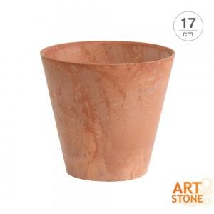 [아트스톤 Artstone] 라운드 클레어 인테리어 원형화분(17cm)