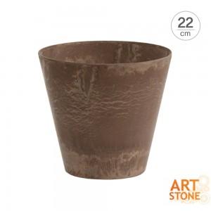 [아트스톤 Artstone] 라운드 클레어 인테리어 원형화분(22cm)