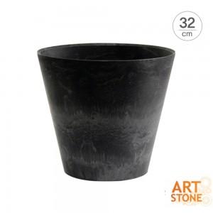 [아트스톤 Artstone] 라운드 클레어 인테리어 원형화분(32cm)