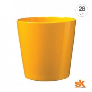 [S.K Since 1893] 댈러스 컬러 스타일 독일 명품 세라믹 인테리어화분(28cm)