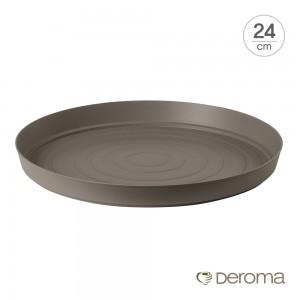 [데로마 Deroma] 플라스틱 화분받침대 소토바소 삼바(24cm)