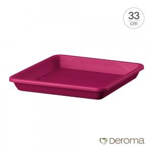 [데로마 Deroma] 플라스틱 화분받침대 소토바소 콰드로 폰자 맥시 펀 데이(33cm)