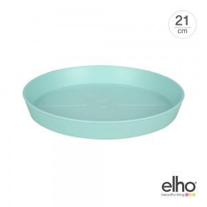 [엘호 elho] 로프트 어번 라운드 소서 화분받침대(21cm)
