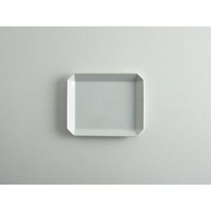 [1616/arita japan] TY Square Plate 130 White 스퀘어 플레이트 130 화이트 아리타재팬