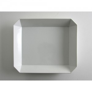 [1616/arita japan] TY Square Bowl 255 White 스퀘어 볼 255 화이트 아리타재팬