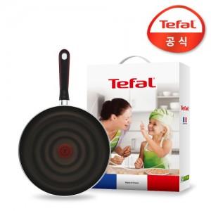테팔 티타늄코팅 컴포트그립 프라이팬 28cm_선물세트