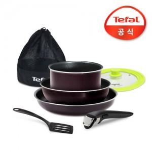 테팔 매직핸즈 코펠 캠핑 5종세트 _사은품 (멀티뚜껑)
