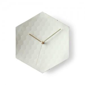 [알프] 콘크리트비하이브클락-골드 벽시계