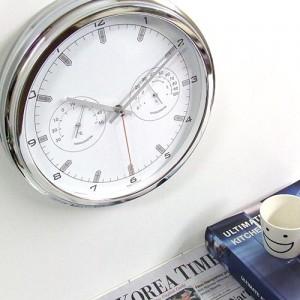 타임온습도벽시계(2COLOR)
