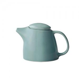Whatcoffee 킨토 토포 티포트 블루 400ml