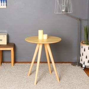 스칸디안 인테리어 카페 원형 티테이블