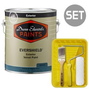 에버쉴드 벨벳광 실외용 울트라 프리미엄 4L + 페인팅 도구세트 7인치