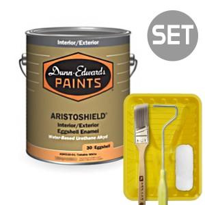 아리스토쉴드 철제&금속용 계란광 1L + 페인팅 도구세트 4인치