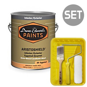 아리스토쉴드 철제&금속용 계란광 4L + 페인팅 도구세트 7인치
