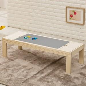 원목 레고 테이블 대