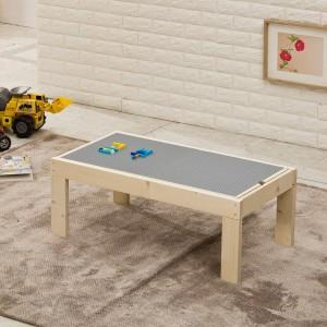 원목 레고 테이블 소