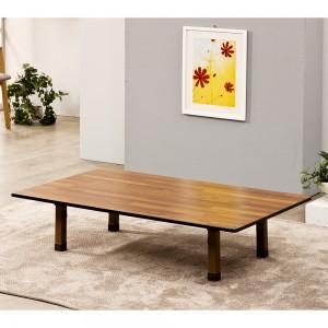 포메리트 6인용 테이블 PVC다리 대형