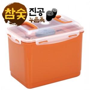 로이첸 참숯 진공 누름독 22L
