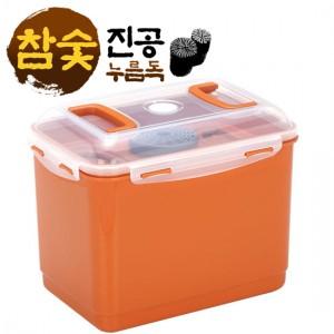 로이첸 참숯 진공 누름독 16.5L
