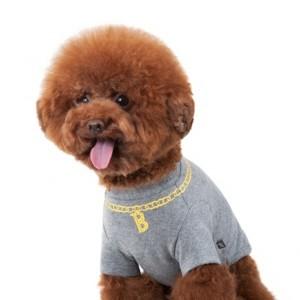 [스니프] 바트 체인목걸이 T(그레이) S-L 강아지옷