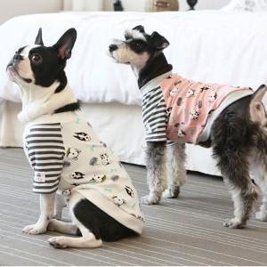 [이츠독] 퍼니테리어 스판면티 강아지옷