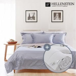 [헬렌스타인] 호텔콜렉션 100수 투톤 헝가리 여름구스 침구세트 퀸(300g+침구)